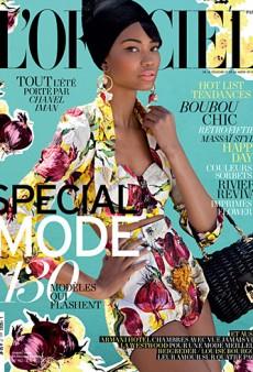 We Love Chanel Iman's L'Officiel Paris Cover (Forum Buzz)