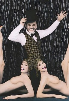 Christian Louboutin for the Crazy Horse Cabaret