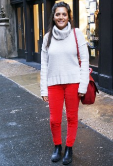 Show Us Your Red: Bag & Corduroys