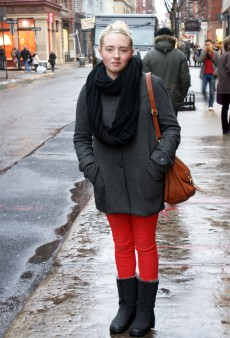 Show Us Your Red: Pants