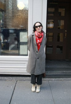 Show Us Your Red: Scarf