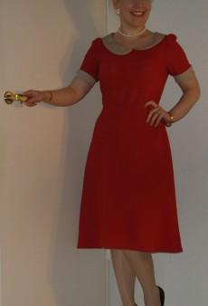 Show Us Your Red: Retro Dress