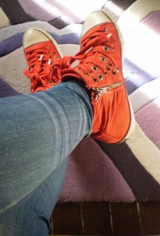 Show Us Your Red: High-Tops