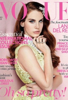 Lana Del Rey's Mediocre Vogue UK Cover (Forum Buzz)