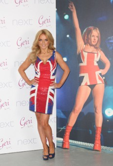 Geri Halliwell Brings Back Her Famous Union Jack
