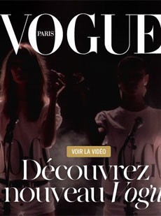 Paris Vogue's New Website Launched Today