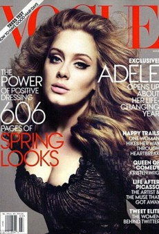 Adele Covers Vogue's March Issue (Forum Buzz)