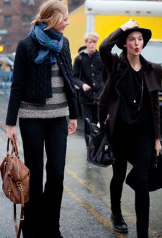 Street Style Chronicles: New York Fashion Week Fall 2012