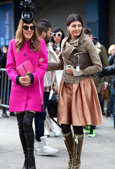 Fashion Editor Street Style: New York Fashion Week Fall 2012 (Forum Buzz)