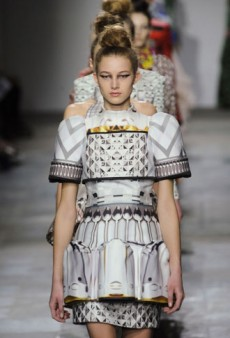 Mary Katrantzou Fall 2012 Runway Review