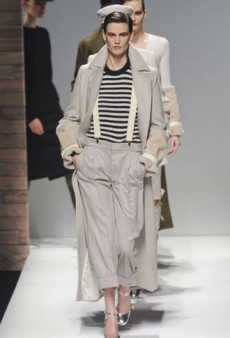 Max Mara Fall 2012 Runway Review