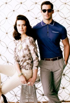 Banana Republic Launches Second Mad Men Collection: Closed Set with Julie Bensman