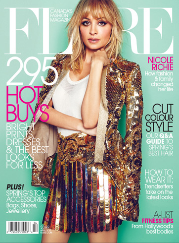 Flare April 2012 - Nicole RIchie