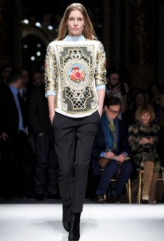 Balmain Fall 2012 Runway Review