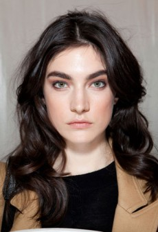 Backstage Beauty with Justin St. Clair: J. Mendel Fall 2012