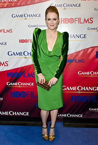 Julianne Moore 'Game Change' premiere in Tom Ford