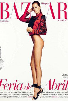 Izabel Goulart Goes Bottomless on Harper's Bazaar Spain (Forum Buzz)