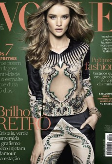 Rosie Huntington-Whiteley Covers the April Issue of Vogue Brazil (Forum Buzz)