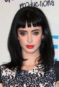Krysten Ritter: Look of the Day – Graphic Dot Print