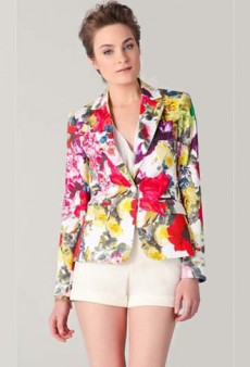 Spring Awakening! Jackets Get the Floral Treatment