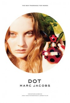 No Surprises in the Marc Jacobs 'Dot' Fragrance Ads (Forum Buzz)