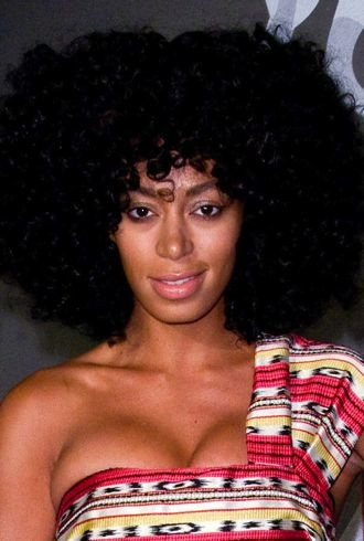 Solange Knowles The Hennessy Wild Rabbit campaign launch event New York City cropped