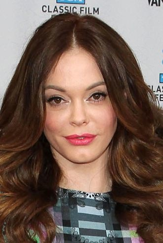 Rose McGowan TCM Classic Film Festival opening night Hollywood cropped