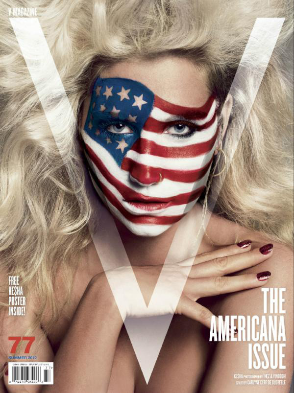 Kesha V Magazine Summer 2012 Americana Issue by Inez & Vinoodh