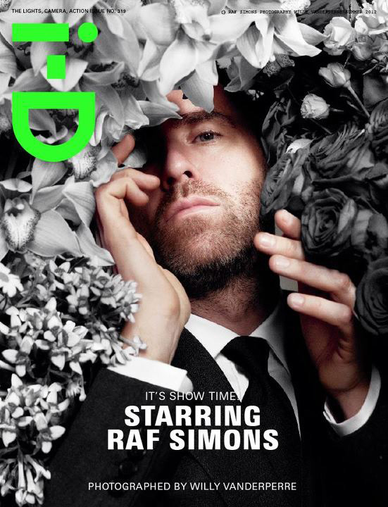 i-D Summer 2012 - Raf Simons by Willy Vanderperre