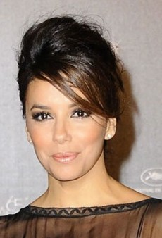Eva Longoria: Look of the Day – Alberta Ferretti Fall 2012 Gown