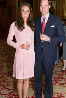 Kate Watch: Kate in Emilia Wickstead at the Queen's Diamond Jubilee Lunch