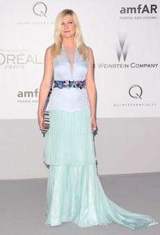 No Love for Kirsten Dunst's Louis Vuitton Dress at the amfAR Gala (Forum Buzz)