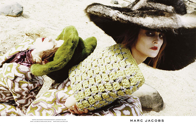 Marc Jacobs Fall 2012 by Juergen Teller
