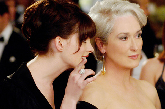 Devil Wears Prada - Anne Hathaway and Meryl Streep