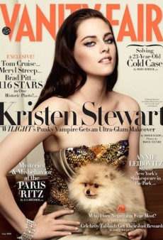 Kristen Stewart Pulls Off Some Serious Couture for Vanity Fair