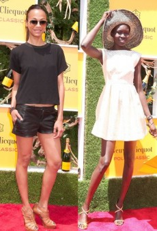 Summer Prep: Get Alek Wek's Look from the Veuve Clicquot Polo Classic
