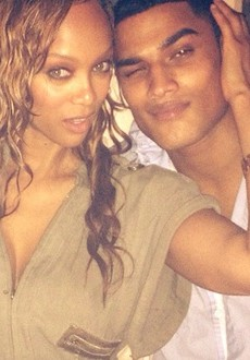 Wait — Is Tyra DATING New ANTM Judge Robert Evans?