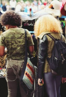 Afros, Cosplay, and More Downtown Street Style Snaps from NYC's Spring Street