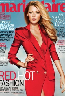 Link Buzz: Blake Lively Covers Marie Claire & Steve McCurry Tapped for Pirelli