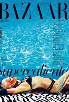 Harper's Bazaar Spain Takes Hanaa Ben Abdesslem Poolside for Summer (Forum Buzz)