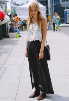 Snapped! It May Be Hot Outside, But NYC Street Style Stays Cool