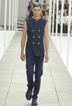 Dior Homme Gets Inspired by the Navy and More Paris Men's Spring 2013