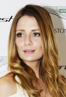 Look of the Day: Mischa Barton's Draped Temperley London Spring 2012 Gown