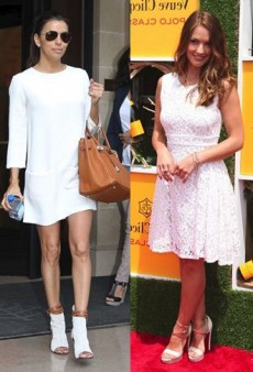 Celebs Do Summer Right With the Essential Little White Dress
