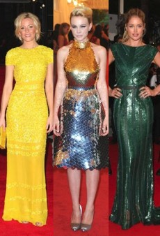 Shiny Happy People: Stars Sparkle in Sequins