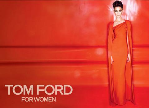 Tom Ford fall 2012 ad campaign - Kati Nescher