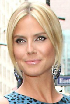 Look of the Day: Heidi Klum Mixes It Up in Dolce & Gabbana