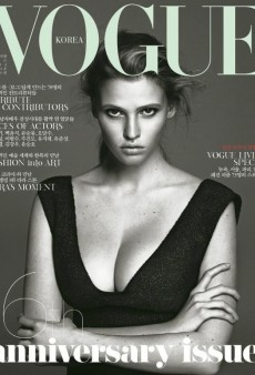 Lara Stone Covers Vogue Korea's 16th Anniversary Issue (Forum Buzz)
