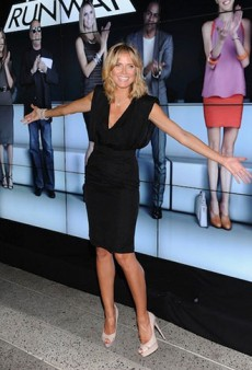 Heidi Klum Celebrates Project Runway's 10th Anniversary and Other Celeb Twitpics of the Week