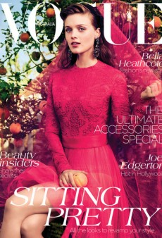 Bella Heathcote Covers Edwina McCann's First Issue of Vogue Australia (Forum Buzz)